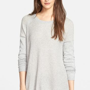 Women's Eileen Fisher Organic Cotton & Cashmere Knit Top,