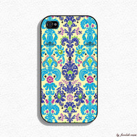 Iphone 4 Case  Modern Damask Iphone 4s case iphone by fundakcases