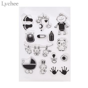 Lychee Childhood Memory Transparent Clear Silicone Stamp Seal for DIY Scrapbooking Photo Album Decorative Clear Stamp