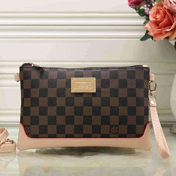 Louis Vuitton LV Women Clutch bag Leather Crossbody Shoulder Bag Satchel