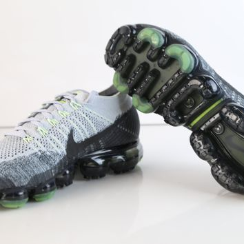 BC DCCK Nike Air VaporMax Flyknit E Heritage Pack Neon Pure Platinum Anthracite 922915-002 (NO Codes)