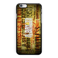 A Day To Remember Song iPhone 6 Case