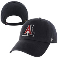 47 Brand Arizona Wildcats Clean Up Adjustable Hat - Navy Blue