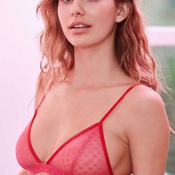 c9dcc2164de8f1 Out From Under Valentine Jennifer High Point Bra - Urban Outfitters