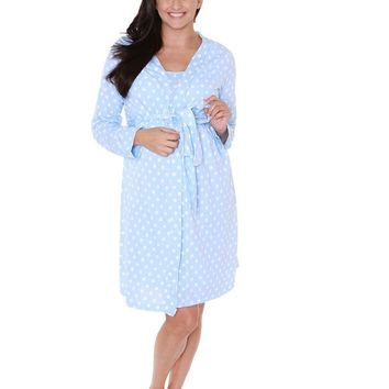 Nicole Maternity, Delivery, & Nursing Robe