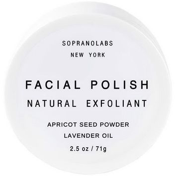 SopranoLabs - Lavender Vegan Facial Polish. All Natural Face Scrub.