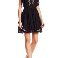 Love Sam | Monika Embroidered Mini Dress | Nordstrom Rack