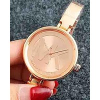 MK men and women fashion high quality quartz watch F-Fushida-8899 Rose gold