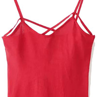 Cross Strap Cropped Top
