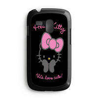 Hello Kitty We Love Cute Samsung Galaxy S3 Mini Case