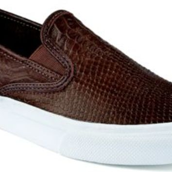 Sperry Top-Sider Cloud Python Slip-On Sneaker Brown, Size 11.5M  Men's Shoes