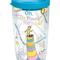 Dr. Seuss™ Oh the Places You'll Go Wrap with Lid | 16oz Tumbler | Tervis®