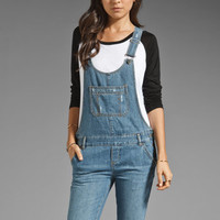 RVCA The Wanderer Overalls in Vintage Blue from REVOLVEclothing.com
