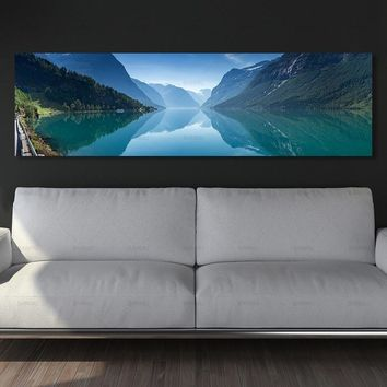 Poster landscape canvas picture paintings on the wall painting  home decoration picture wall art canvas Painting no frame