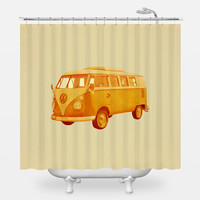 Summer Ride Shower Curtain