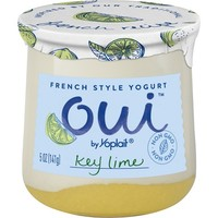 Oui Yoplait Key Lime Flavored French Style Yogurt - 5oz
