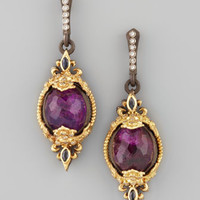 Mini Sugilite Drop Earrings