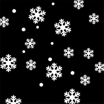 High Quality DIY Wall Window Stickers Angel Snowflake Christmas Decorations For Home Vinyl Art Decoration Decals #1020