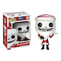 Funko POP! Disney - Vinyl Figure - SANTA JACK SKELLINGTON (4 inch): BBToyStore.com - Toys, Plush, Trading Cards, Action Figures & Games online retail store shop sale