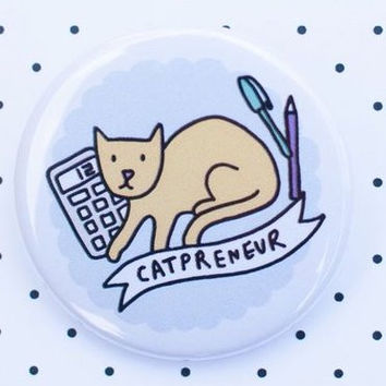 Catpreneur Cat Badge
