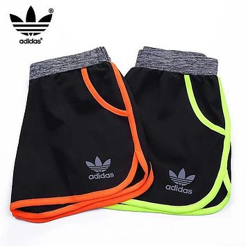 Adidas Fashion Women Men Casual Quick-Drying Breathable Sports Running Short Pants I12971-1