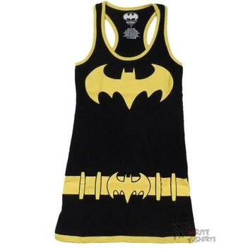 Batman Batgirl Character Costume DC Comics Tunic Tank Dress