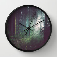 Mirkwood Wall Clock by Wowpeer