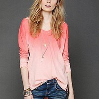 Free People Clothing Boutique > We The Free Sunburst Long Sleeve Top