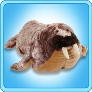 Pillow Pets®  Folding Plush :: Willy Walrus - My Pillow Pets® | The Official Home of Pillow Pets®