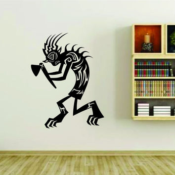 Native American Kokopelli Indian Vinyl Wall Decal Sticker