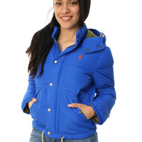 Polo Ralph Lauren Women's Full Zip Puffer Jacket