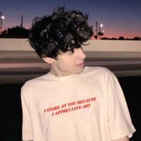 """I Stare At You Because I Appreciate Art"" Tee"