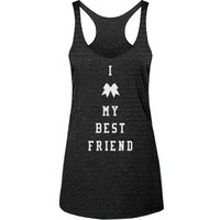 Love My Best Friend Cheerleader Tank Top