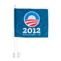Obama for America | 2012 | Store | Obama Car Flag