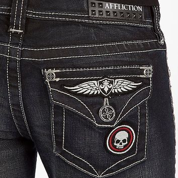 Affliction Black Premium Jade Boot Stretch Jean - Women's Jeans | Buckle