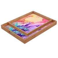 DENY Designs Rosie Brown Color My World Rectangular Tray