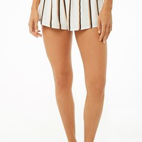 Striped Woven Shorts
