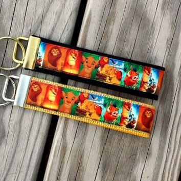 Disney Inspired Lion King Keychain, Key Fob, Wristlet, Key Holder #3