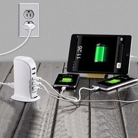 Day-First™ Cool 6-Port USB Charging Station
