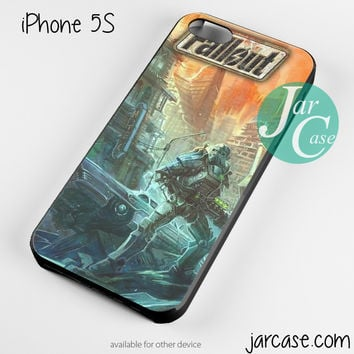 Fallout 4 Art Game Phone case for iPhone 4/4s/5/5c/5s/6/6 plus