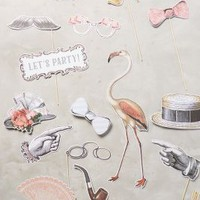 Photo Booth Prop Set by Anthropologie in Novelty Size: One Size Gifts