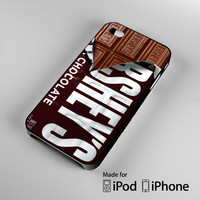 Hershey Candy Bar A1023 iPhone 4S 5S 5C 6 6Plus, iPod 4 5, LG G2 G3, Sony Z2 Case