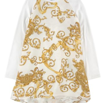 Versace Girls 'Draco' Dress