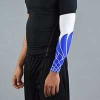 Icarus White and Blue Arm Sleeve