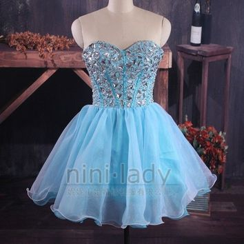 Stock Short Evening Party Prom Ball Gowns Cocktail Homecoming Dresses Size 6-16