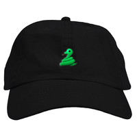 Snake Emoji Dad Hat