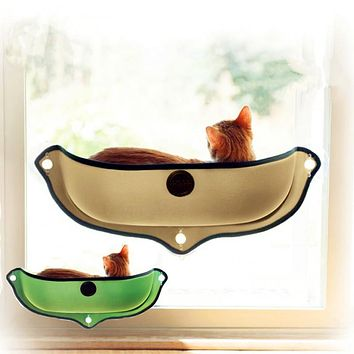 Removable Cat Window Bed Mounted Hammock Cat Lounger Perch