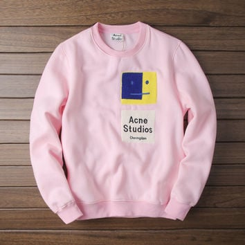 Star Couple High Quality Pink Hoodies [10176384071]