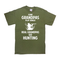 Funny Hunting Shirt Grandpa Gift Ideas For Him Papa T Shirt Hunter TShirt Outdoorsman Gifts Grandfather T-Shirt Outdoor Mens Tee - SA700