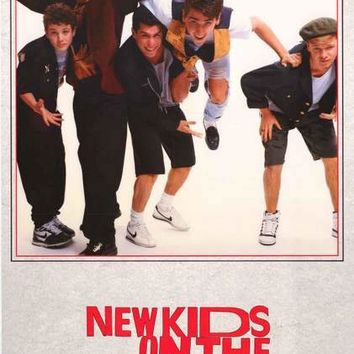 New Kids on the Block 1989 Band Poster 22x34